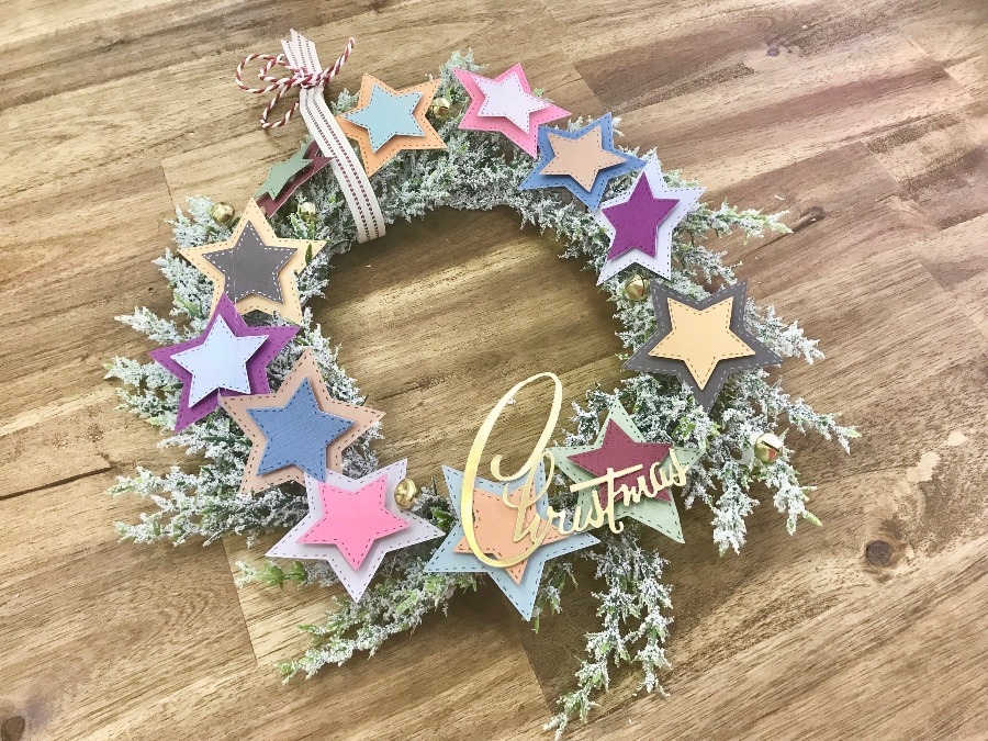 star_christmas_wreath